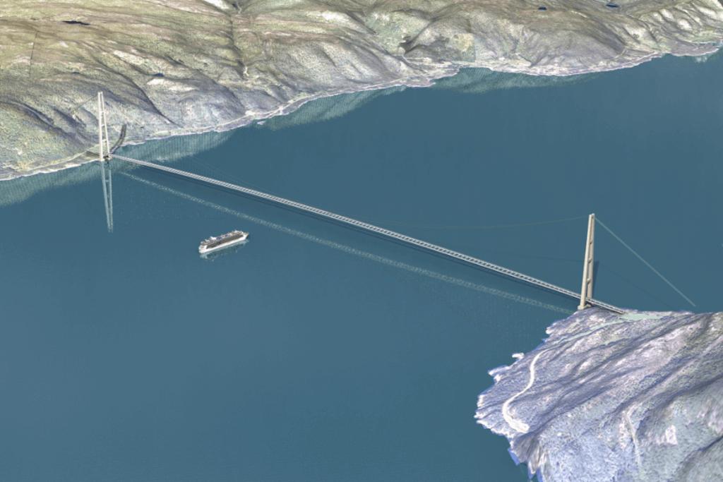 طرح آزاد راه 1100 کیلومتری نروژ